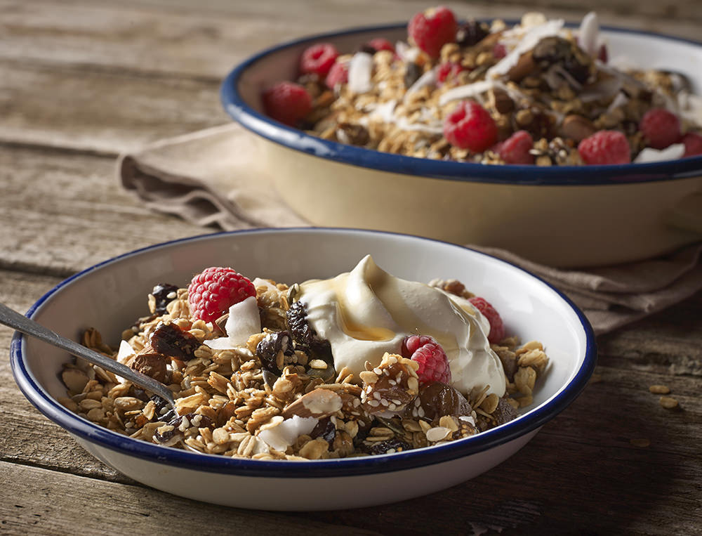 Fig Maple and Pumpkin Seed Granola