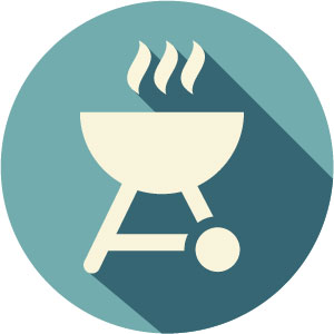 grilling icon